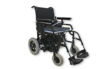 "Quickie P-100 Power Chair By Sunrise Medical | Removable Leg Rests | 17"" x 16"" Seat"