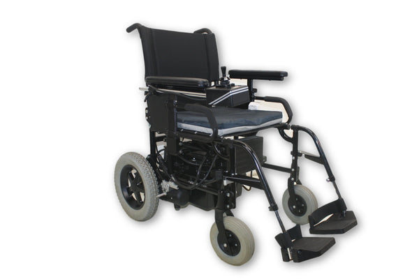 Quickie P-100 Black Electric Power V100 Wheelchair By Sunrise Medical