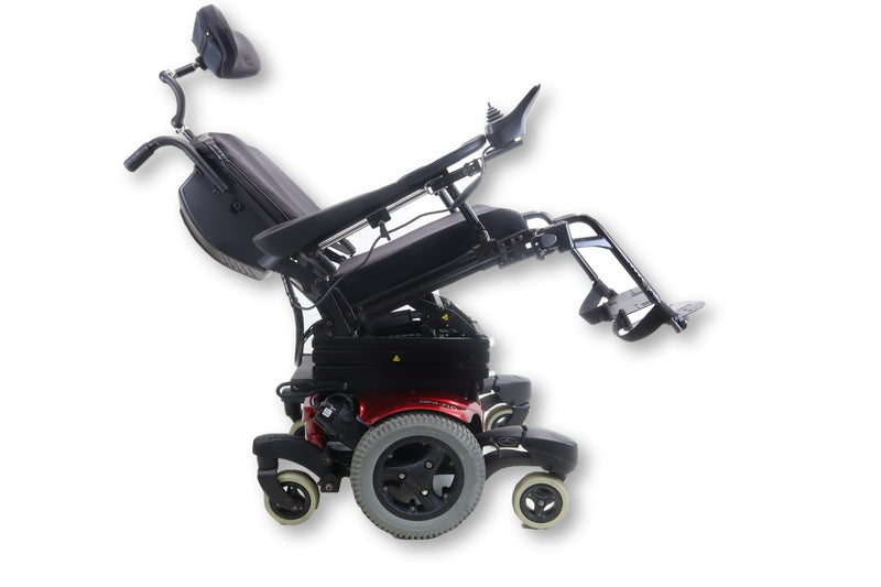 "Quickie QM-710 Power Chair | Seat Elevate, Tilt & Recline | 17"" x 20"" Seat - Power Chairs Test"