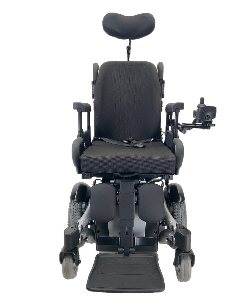 Armrest view of Like New Invacare TDX SP Rehab Power Chair | 17 x 20 Seat | Tilt & Seat Elevate