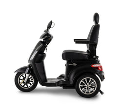 Other side of New Pride Mobility Raptor 3-Wheel Recreational Mobility Scooter | Max Speed 14 MPH | 400 LBS Weight Capacity