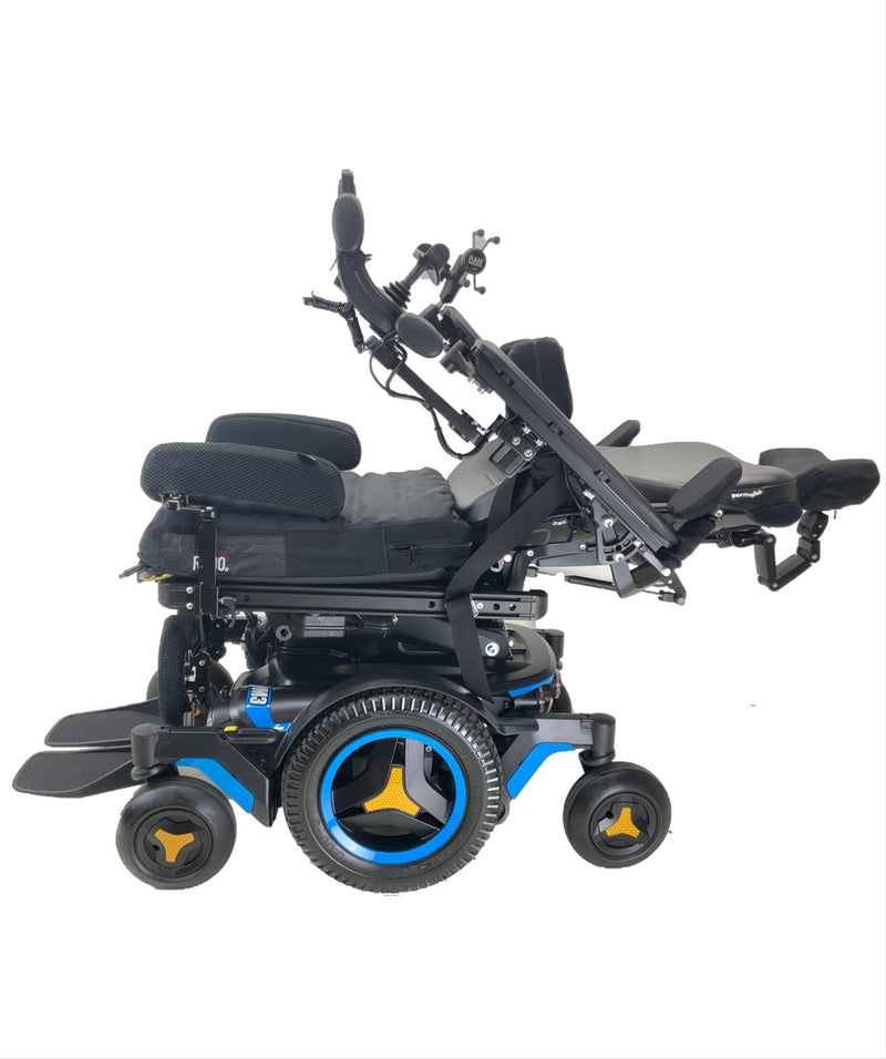 Reclined Like New 2020 Permobil M3 Power Chair | 19 x 20 Seat | Tilt, Recline, Power Legs | Only 25 Miles!