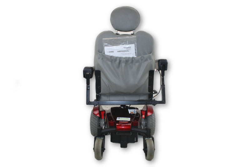 "Pride Mobility Jazzy Select Red Electric Power Wheelchair | 20""x20"" Seat - Power Chairs Test"
