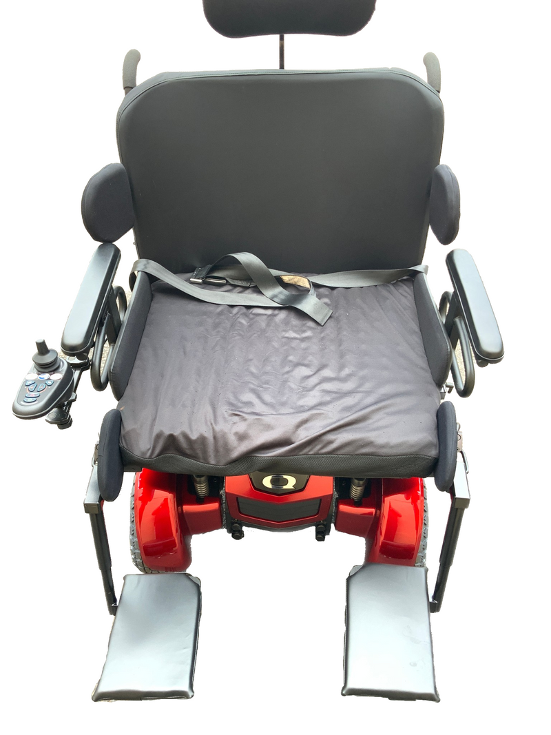 Seat of Quantum 1450 Power Chair
