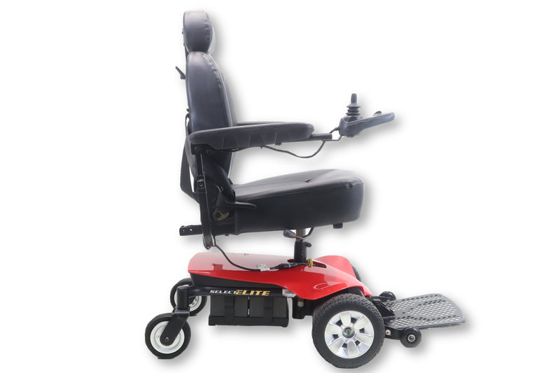 "Pride Jazzy Select Elite Power Chair | Front Wheel Drive | 19"" x 18"" Seat - Power Chairs Test"