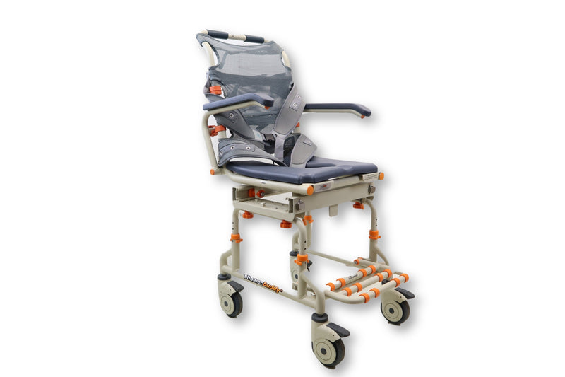 Transport Shower Bench System | Shower Buddy With Commode Opening | SB2 Sliding Shower Chair - Power Chairs Test