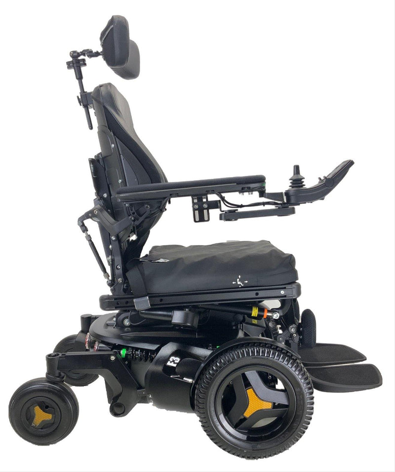 Side of 2018 Permobil F3 Corpus Rehab Power Chair