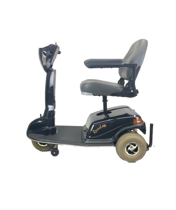 "Rascal 600T Electric Mobility 3-Wheel Scooter | 5"" Inch Seat Lift Elevator 