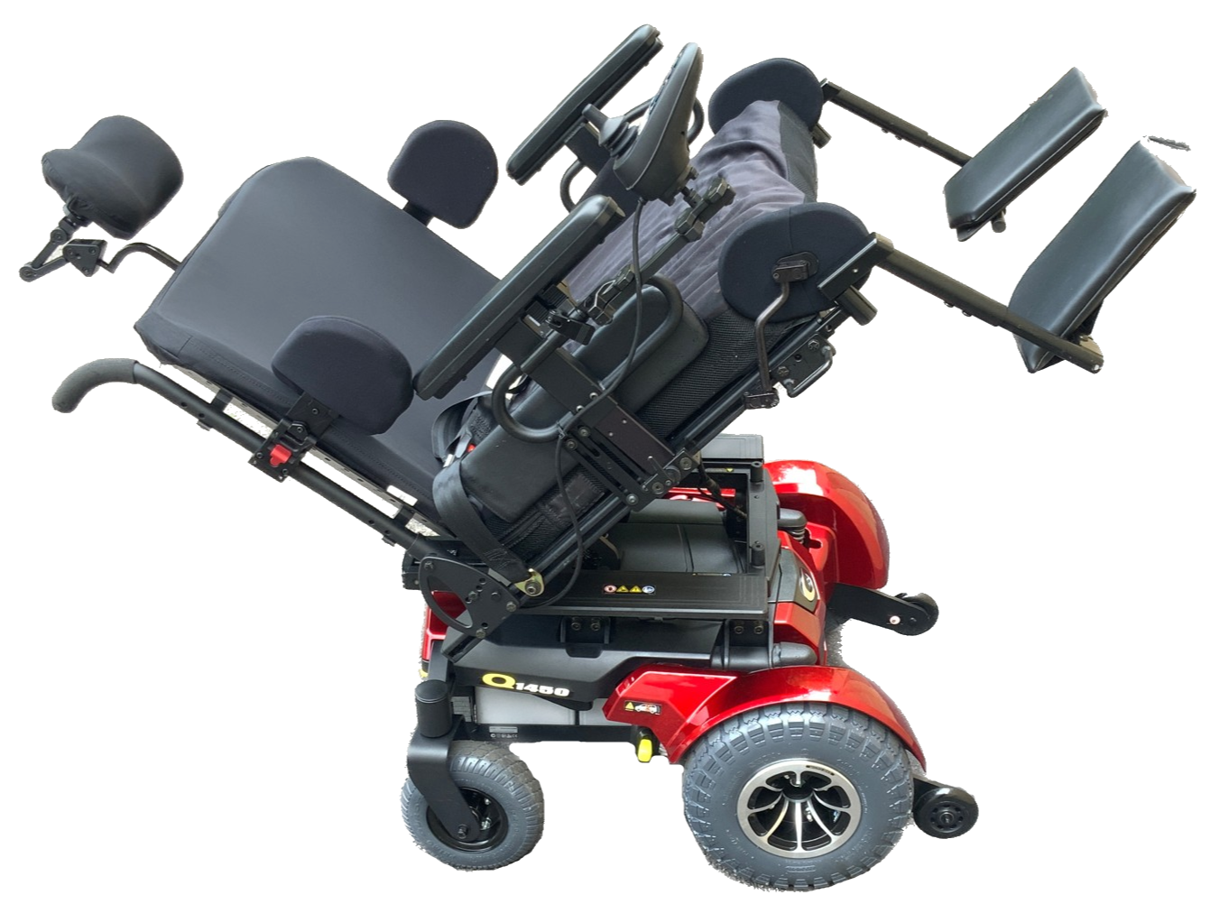 Quantum 1450 Heavy Duty Bariatric Power Chair | 600 Lbs. Limit | 28