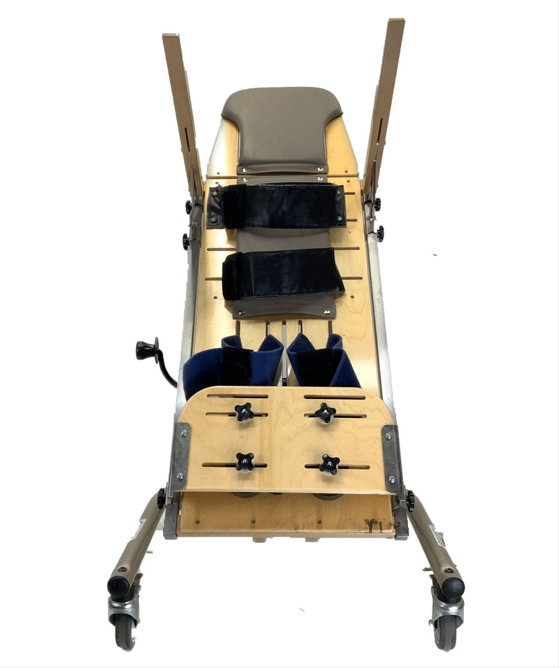 Tilted Rifton E420 Pediatric Supine Stander  Safe and Secure Stander For All
