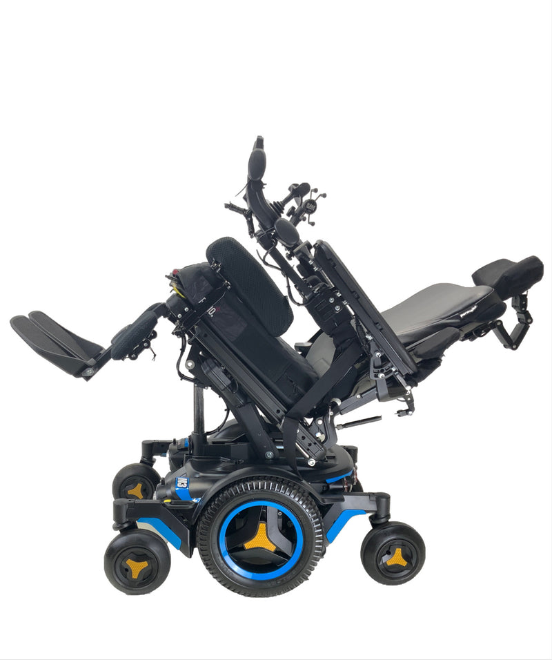 Tilted Like New 2020 Permobil M3 Power Chair | 19 x 20 Seat | Tilt, Recline, Power Legs | Only 25 Miles!