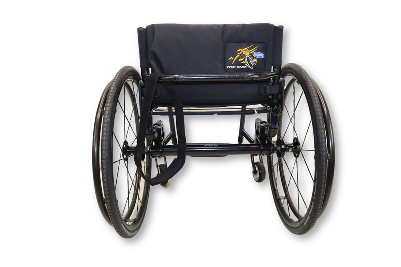 "Invacare Top End Terminator Manual Wheelchair | Quick Release Wheels | 17""x16"" - Power Chairs Test"