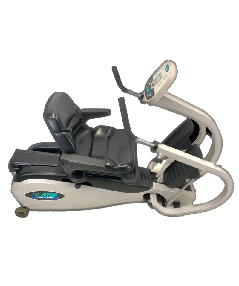 Top view of Physical Therapy NuStep TRS 4000 Recumbent Rehabilitation Cross-Trainer