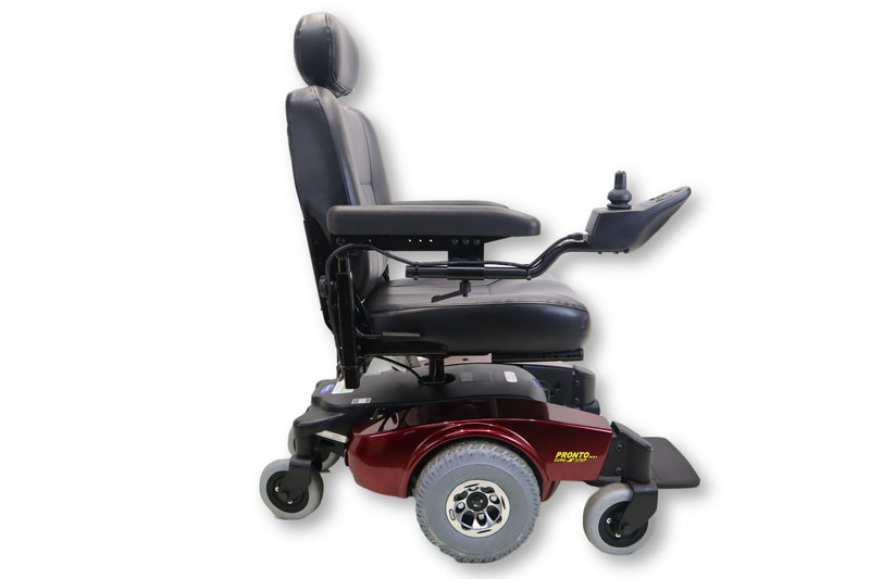 "Invacare Pronto M51 SureStep Power Chair | 19"" x 19"" Seat - Power Chairs Test"