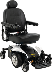 New Pride Mobility Jazzy Select 6 2.0 Power Chair With Optional Seat Elevate
