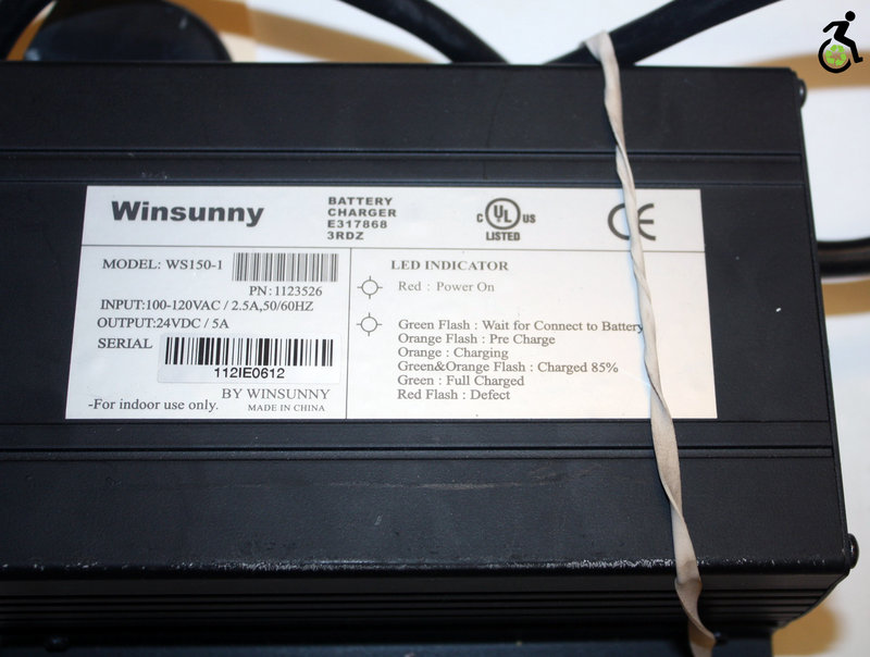 Winnysunny Battery Charger | 1123526 | Invacare Replacement Parts - Power Chairs Test