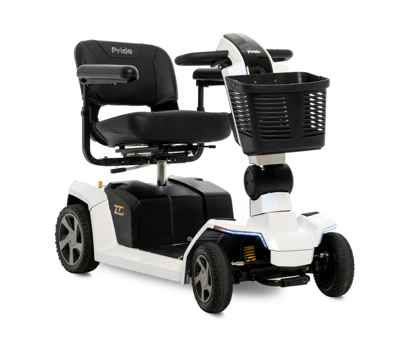 New Pride Mobility Zero Turn 10 (ZT10) 4-Wheel Mobility Scooter | Max Speed 7 MPH | 400 LBS Weight Capacity