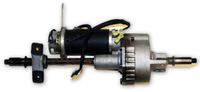 Warner Electric Transaxle Motor & Gearbox | WR198A295P1 | Zip'r - Mobility Equipment for Less