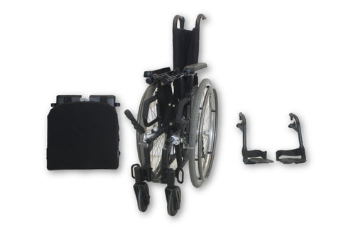 Sunrise Medical Quickie 2 Manual Wheelchair | High Back | Lightweight Design
