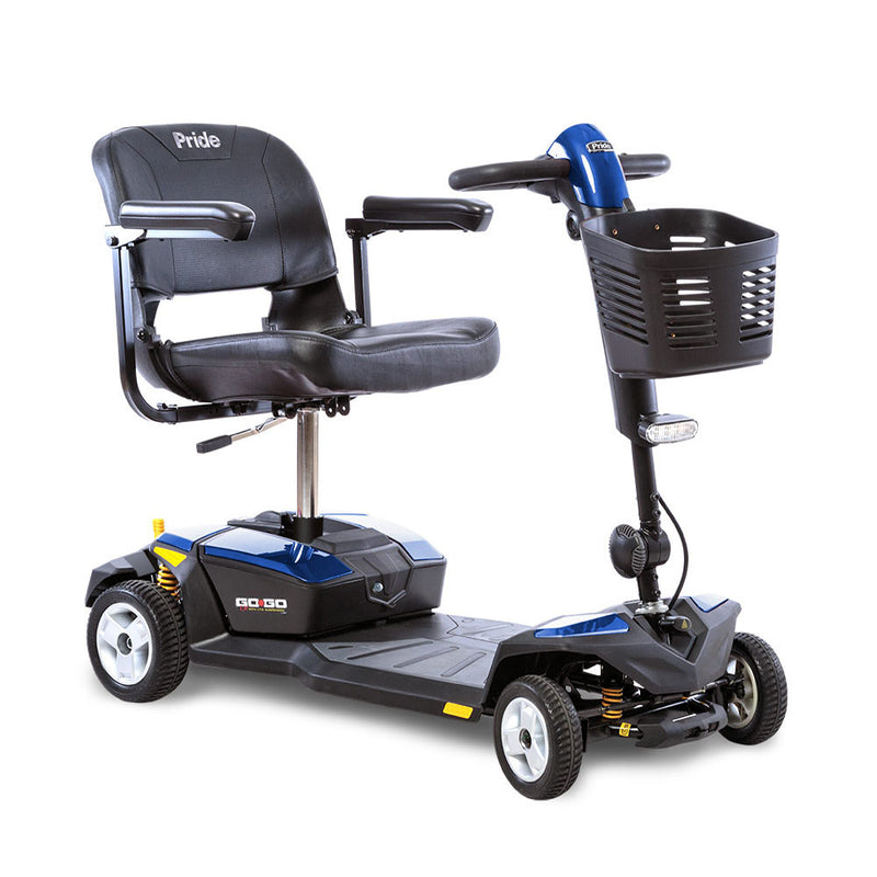 Blue Pride Mobility Go-Go LX 4-Wheel Mobility Scooter