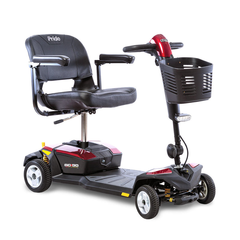 Four Wheel Lightweight Mobility Travel Scooter Pride Go Go LX