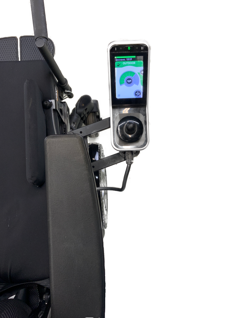 Swingaway Joystick Mount on Invacare TDX SP 2 Power Chair