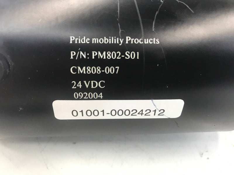 Pride Mobility Scooter Motor & Gearbox Assembly PM802-S01 CM808-007 - Power Chairs Test