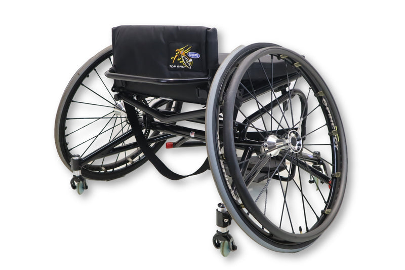 Invacare Top End Pro Basketball Wheelchair | Anti-Tip Lightweight Frame Design - Power Chairs Test
