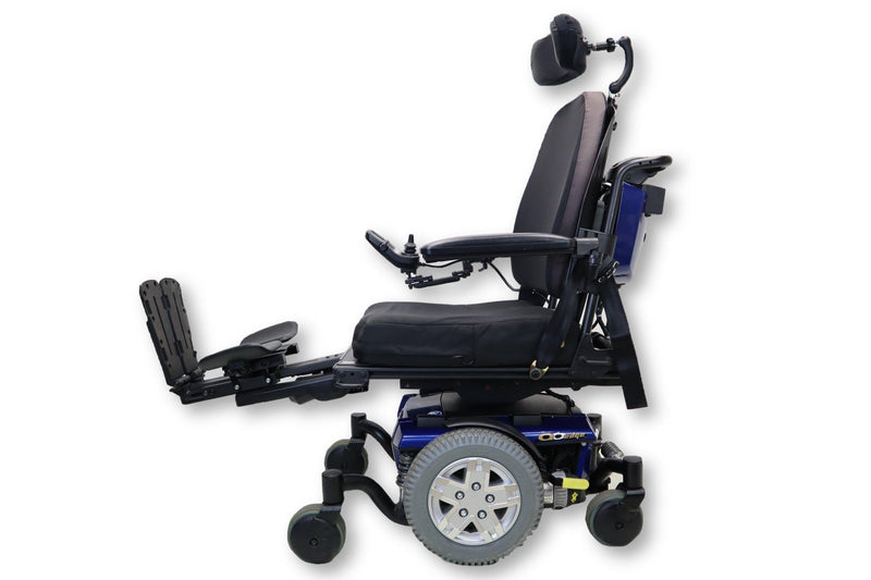 "Quantum Q6 Edge Electric Wheelchair | Seat Elevate | Tilt | Recline| Power Legs | 18"" x 20"" Seat - Power Chairs Test"