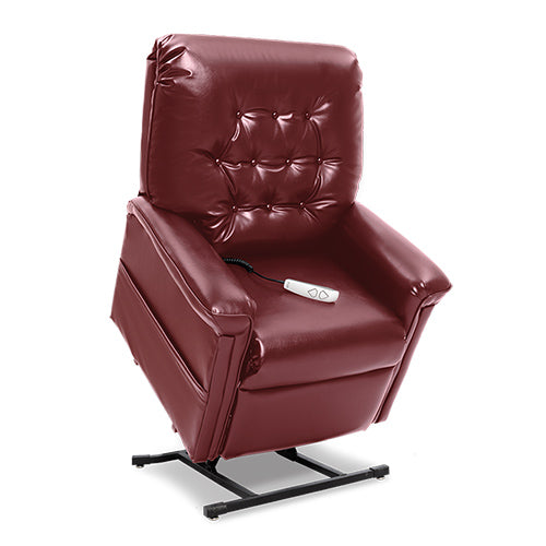 red lift chair recliner
