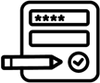 small icon of a truck in motion