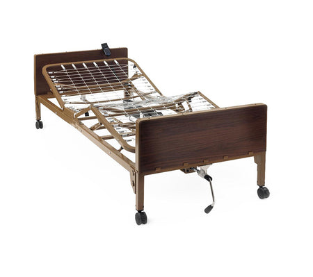 semi electric hospital bed without mattress