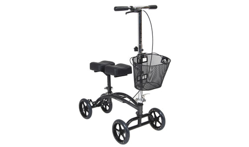 knee scooter with basket