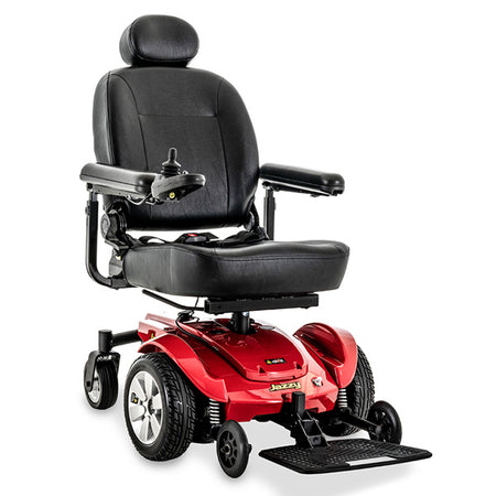 pride mobility red jazzy select electric wheelchair