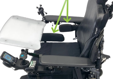 custom wheelchair positioning equipment and lateral supports
