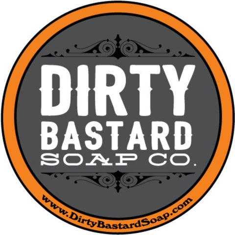 Dirty Bastard Logo Sticker