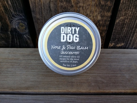 All Natural Nose & Paw Balm - Unscented