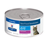 Hill's Feline D/D (Skin Sensitivities) Duck - 24 x 5.5oz