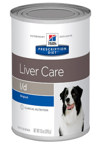 Hill's Canine L/D Hepatic Care - Case of 12 Cans