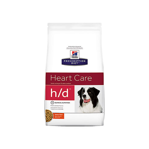 Hill's Canine H/D (Heart Care) - Dry Kibble (8 Kg)