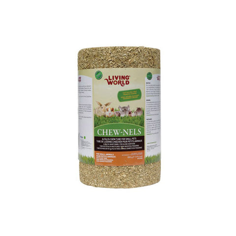 LIVING WORLD ALFALFA Chew-Nels Large - 6in x 10in