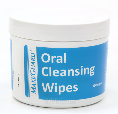 Maxi Guard Oral Cleansing Wipes 100/pkg