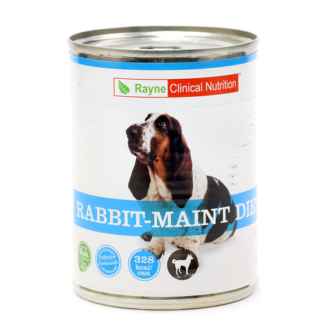 Rayne Canine Rabbit Maintenance- 12X 368 Gm Case