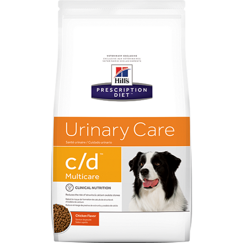 Hill's Canine Urinary C/D Multicare Dry - Chicken