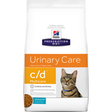 Hill's Feline Urinary C/D Multi-Care - Chicken or Fish