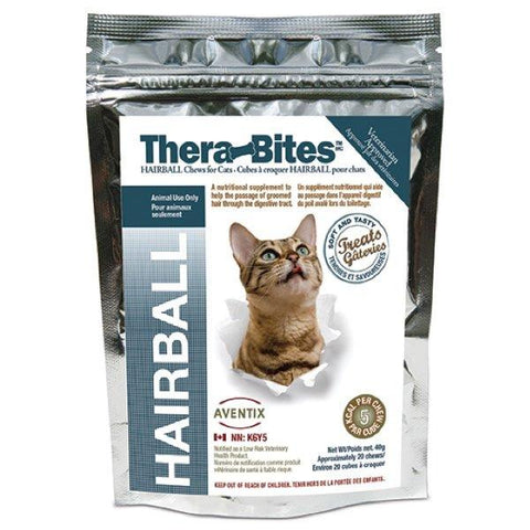 Therabites Hairball Chews for Cats