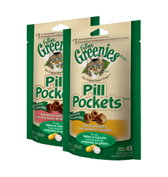 Pill Pockets Treats for Cats