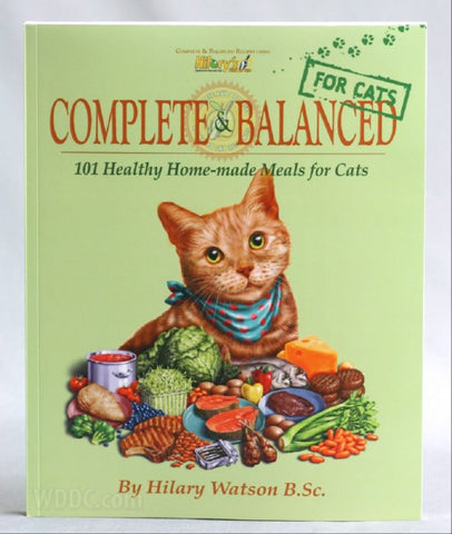 Hilary's Blend Complete & Balanced Recipe Book For Cats