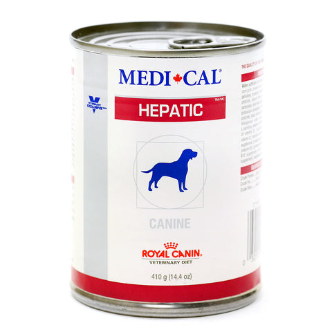 Royal Canin Hepatic Cans (12x370gm)
