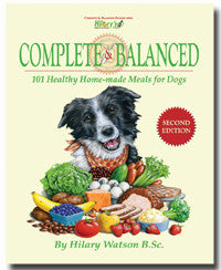 Hilary's Blend Complete & Balanced Recipe Book For Dogs